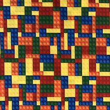 OFFCUT LEGO BLOCKS BRICKS FIGURES HARRY POTTER  POLYCOTTON  FABRIC CHARACTER
