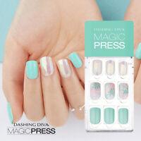 [DASHING DIVA] Magic Press Gel Nail Art Manicure 30 pcs LUCID DREAM