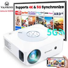 VANKYO Leisure 530W 4K 5G WLAN Native 1080P Projektor Beamer LED Heimkino 8000LM