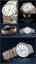 Yukon Complete Stainless Steel Unisex Watch from D. House Cavadini Rose Gold