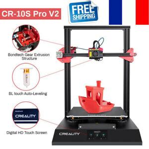 Imprimante 3D Creality CR-10S Pro V2 DIY FDM d'occasion 300X300X400mm Livraison