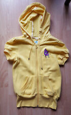 RARE Limited Edition FAFI and ADIDAS Zip Up Hooded Short-Sleeve Sweater Size: XS