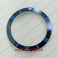 38mm Luminous Ceramic bezel insert watch Fit Automatic Movement Watch Bezel