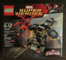 Lego 76036 - Super Heroes - Carnage's SHIELD Sky Attack - Retired - NISB