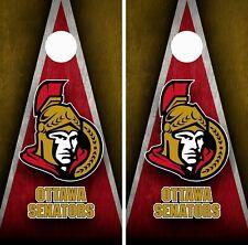 Ottawa Senators Cornhole Wrap Skin Board NFL Sports Vinyl Decal GC112