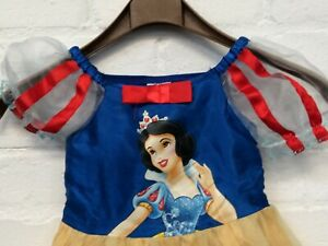 Disney Princess Snow White Fancy Dress Outfit Girls Age 2-3 Years