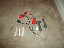 1985 GI Joe Nasta Ind. Inc. Paramedic Medical Kit Accessories & Case Complete