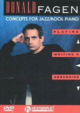Concepts For Jazz/Rock Piano:Playing,Writing & Arranging:Donald Fagen [Homespun]