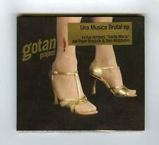 CD (NEW) GOTAN PROJECT UNA MUSICA BRUTAL EP 4 TITRES