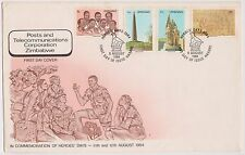 (YAB-41) 1984 Zimbabwe FDC post& telecommunications