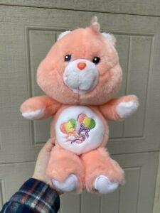 "RARE !! The Care bears Day Dream Bear 13"" Plush Toy HTF 2002  20th Anniversary"