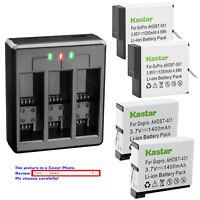 Kastar Battery Triple Charger for Hero GoPro4 GoPro5 GoPro6 GoPro7 Action Camera