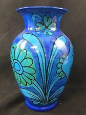 "Large Raymor Bellini Vase 13-1/2"" Floral Mid Century Modern Bitossi"