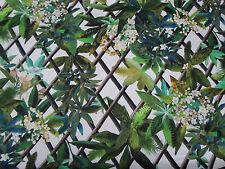 "Designers Guild Fabric ""Canopy"" Malachite 1.3 METRES 130cm 100% Cotton Tropical"