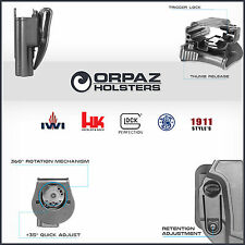 ALL Orpaz Defense Holsters: Glock 17 19, Jericho 941, 1911, H&K USP, S&W M&P