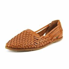 """Low 3/4"""" to 1 1/2"""" Women's Leather Slippers"""