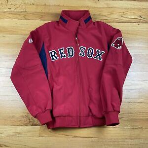 Boston Red Sox MLB Baseball Authentic Majestic Jacket Men's Medium