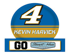 NASCAR #4 Kevin Harvick Jumbo Tailgate Decal-NASCAR Large Sticker-NEW for 2016