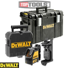 Dewalt DW088K 2 Vie Autolivellante Cross Line Livello Laser KIT CON CUSTODIA DS400