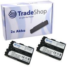 2x AKKU für Sony DSLR-A900 900K A-300K NP-FM500H