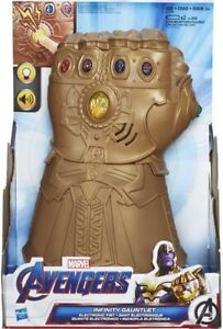 Marvel Avengers Infinity Thanos Gauntlet Electronic Fist Hand Roleplay Toy