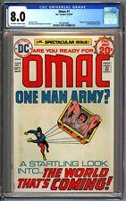 DC COMICS OMAC #1 - CGC 8.0 OW/WP - VF - Origin & 1st OMAC - JACK KIRBY 1974