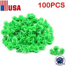 100pcs Door Panel Clip Trim Fastener For Jeep WJ Grand Cherokee Chrysler 6503204