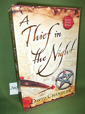 DAVID CHANDLER THIEF IN THE NIGHT FIRST UK PAPERBACK EDITION UNREAD
