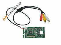 "2AV LCD Controller Board Kit For 3.5"" TFT LQ035NC111 320x240 54Pins LCD Screen"