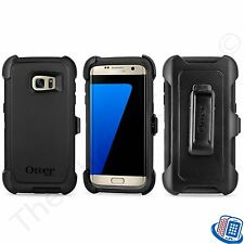 New OEM Otterbox Defender Series Black Shell Case for Samsung Galaxy S7 Edge
