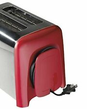 2 Slice Bagel Toaster Hamilton Beach Auto shutoff Cool Wall Stainless Steel Red