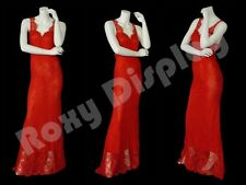 Female Fiberglass Headless style Mannequin Dress Form Display #Md-A6Bw2