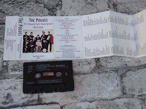 THE POGUES If I Should Fall From Grace With God (UK) / Cassette Tape Album /3798