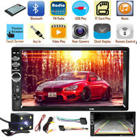 "7"" 2 Din Autoradio 1080P bluetooth Stereo MP5 MP3 Player USB FM AUX + Kamera *"