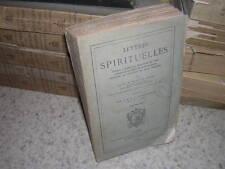 1875.lettres spirituelles de Paul Le Jeune.jésuite canada