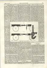 1889 Hosken Tirer Crochet et Couplage Columbian chemins de fer Browns Regulating oil cup