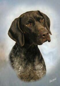 German Shorthaired Pointer Blank Card No 9 By Starprint - Auto combined postage
