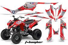 ATV Decal Graphic Kit Quad Sticker Wrap For Yamaha Raptor 350 2004-2014 TBOMB R