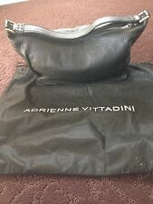 Adrienne Vittadini, black, leather, handbag, 653806002183