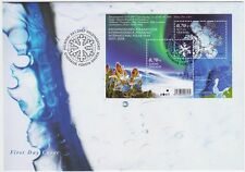 International Polar Year Hologram Finland FDC 2007
