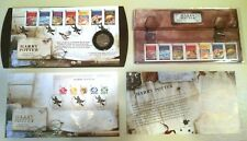 RARE Harry Potter Stamps Collection with 50-Pence Piece