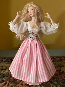 Beautiful Artisan miniature dollhouse French peasant lady doll