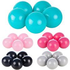 Conjunto de bolas pelotas para piscina infantil 500 piezas, Ø 7cm
