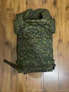 Genuine Russian Army Body Armor 6B45 cover with soft armor NEW Type 2020 Ratnik