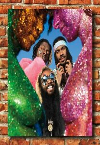W1509 Flatbush Zombies Vacation In Hell Poster 2020 Album 30 24x36 Silk Art