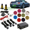 Car Reverse Buzzer Backup Rear Radar System Kit Sound Alarm + 4 Parking  V