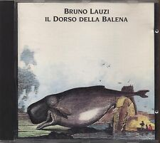 BRUNO LAUZI - Il dorso della balena - CD 1992  MINT CONDITION