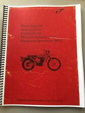 Husqvarna 360C Sportsman 1969 , Vintage OEM Parts Manual . Re-Print Version