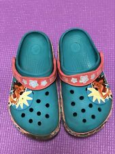 e2d6def8586982 Girl s Crocs Disney Moana Clog Slip On Size 12