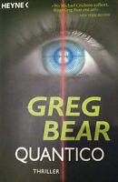 Quantico, von Greg Bear - Deutsche Erstausgabe 12/06
